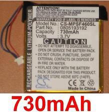 Batterie 730mAh type 805193192 Pour SanDisk Sansa View (16GB)