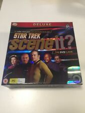 Deluxe Star Trek SCENE IT? The DVD Game Trivia Game with Real TV & Movie Clips