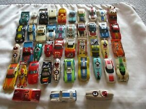 Junkyard lot of Tyco Aurora AFX & Other Slot Car Bodies HO scale