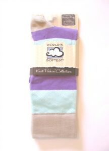 World's Softest Socks - Knit Pickin' Collection - Rugby Crew - Peacock - NEW