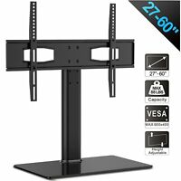 """Flat Screens Holder Universal TV Stand Table Top Base LED LCD HD TVs Fits 27-60"""""""