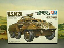 New Listing1:35 Kit Tamiya No. 35234 Ww2 Us Armored Utility Car M20 Greyhound New Sealed