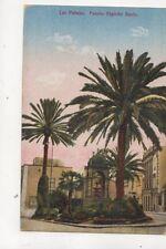 Las Palmas Fuente Espirito Santo Spain Vintage Postcard 393b