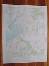 Bowring Oklahoma 1973 Original Vintage USGS Topo Map