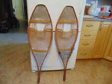 antique indian      snowshoes       13  x  43   nice   /#  2107