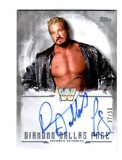 WWE DDP Diamond Dallas Page 2017 Topps Undisputed Silver Autograph Card SN 37/50