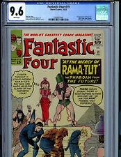 Fantastic Four #19 CGC 9.6 1966 Marvel Comic Rama-Tut Kang Americons K18