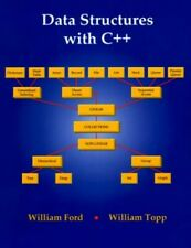 Data Structures with C++ by Topp, William Hardback Book The Fast Free Shipping