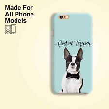 Boston Terrier Phone Case cover iPhone 11 max pro X XS max Galaxy S10 S9 Note 11