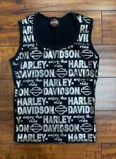 Harley-Davidson Women's Tank Top Size Medium Black - South Dakota