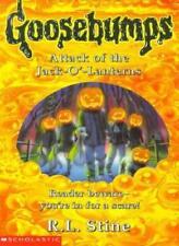 Attack of the Jack O'Lanterns (Goosebumps)-R. L. Stine