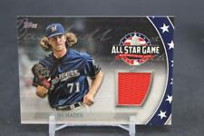 2018 TOPPS JOSH HADER ALL-STAR STICHES JERSEY CARD BREWERS