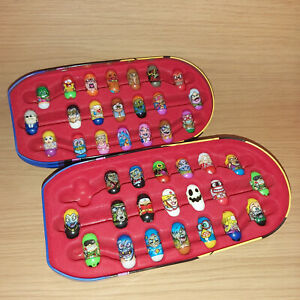 Ja Ru and Moose Mighty Beanz 41pc Collection in Captain Bean 2010 Collectors Tin