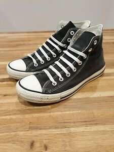 Converse mens black high tops, size 9