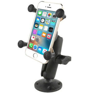 RAM Mounts Composite Flat Surface Mount w X-Grip Cell Phone / iPhone Holder