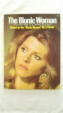 Vintage The Bionic Woman Goodtime Coloring Book