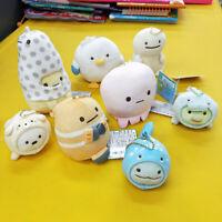 Sumikko Gurashi turtle seal sea plush stand doll toy keyring key chain anime new