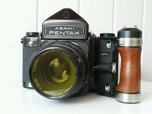 Pentax 6x7 MLU with 90mm & 135mm 67 Medium Format