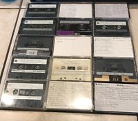 ***Assorted Vintage Cassette Tapes. Mixed Artists.***