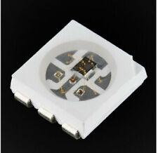 150 pcs -  WS2812B 5050 SMD Individually Addressable  RGB LED - 5V - White