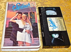 Splash (1984) SUPER RARE CLAMSHELL RELEASE VHS MOVIE TAPE DARYL HANNAH Tom Hanks
