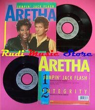 LP 45 7'' ARETHA FRANKLIN Jumpin jack flash Integrity 1986 germany no cd mc dvd*