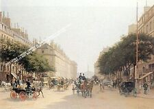 Le Rue Royale Paris by Edmond Georges Grandjean Artwork by Selby Prints