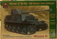 Ark 1/35 Marder II Sd Kfz 132 German Tank Destroyer Model Kit 35031