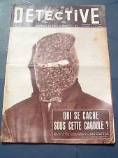 Détective 1957 568 ANGERS JOUHE HANTES WIHERIES Erquelinnes VINCENNES MELUN