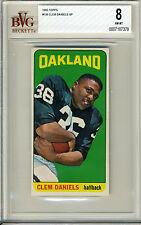 1965 Topps #136 Clem Daniels SP BVG 8 NM-MT Oakland Raiders