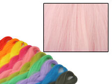 CYBERLOXSHOP PHANTASIA KANEKALON JUMBO BRAID BUBBLEGUM PINK HAIR DREADS