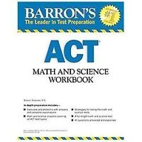 BARRON'S ACT MATH SCIENCE WORKBOOK, 2ND ED  BOOK BY TEUKOLSKY M.S., ROSELYN NEW