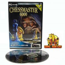 Chess Master 6000 PC Game Strategy Board
