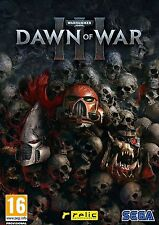 PC STEAM GAME Warhammer 40,000 Dawn of War III Digital Download Code (no disc)