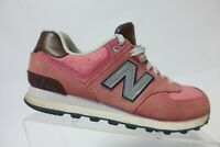 NEW BALANCE 574 Suede Pink Sz 8 B Women Running Shoes