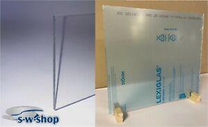 PLEXIGLAS ® DEGLAS ® Acrylglas transparent Zuschnitt, Trennwand, Spuckschutz,
