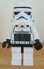 """LEGO STAR WARS ALARM CLOCK STORM TROOPER DIGITAL LIGHT UP TIMER LARGE 9"""" FIGURE."""