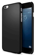 Genuine Uncommon Ultra Sottile Custodia Rigida iPhone 6 6s Solid Nero Opaco