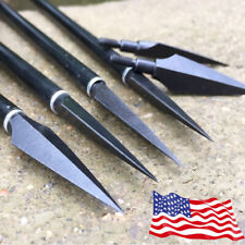 12/20PK Archery Arrowheads Broadheads 150gr Screw Points Bow Crossbow Hunting