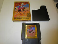 KING OF KINGS GAME with BOX and GAME NINTENDO CLASSIC SYSTEM NES HQ BOX #A