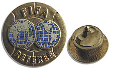 FIFA Referee Pin From 1953 -- Gold-Plated
