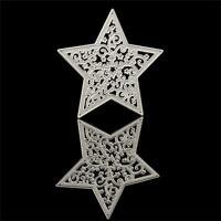 Snow Star Cutting Dies Stencil Scrapbooking Album Paper Card Embossing Craft~