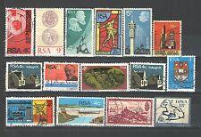 R66 - SUDAFRICA 1974 - LOTTO USATI DIFFERENTI N°326/357 - VEDI FOTO