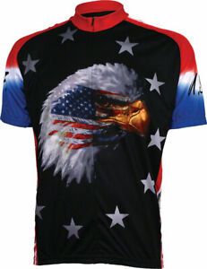 World Jerseys American Eagle Jersey | Black | 2XL