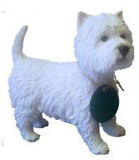 West Highland Terrier Westie Dog Ornament Figurine Gift Boxed by Leonardo