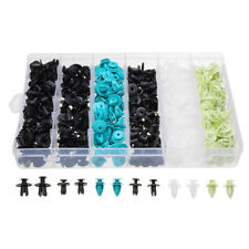 360Pcs Car Plastic Push Pin Rivet Trim Clip Bumper Fender Retainer Fastener Kit