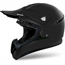 CASCO DA MOTO CROSS ENDURO QUAD AIROH SWITCH COLOR NERO OPACO TAGLIA S