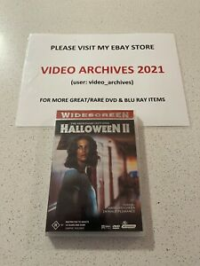 Halloween II 2 (DVD, 2001) Region 4 Rare - Free Postage
