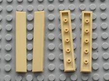 4 x tile Tan LEGO ref 6636 / set 5891 21036 7573 75222 10253 6243 75174 21005...