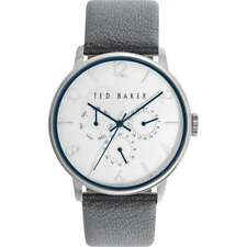 Ted Baker Unisex 42mm Case White Face TE10029567 Watch - 16 off